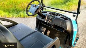 Quality 48ボルトの電池、赤い色の道法的2 座席のゴルフおかしで実用的なカート for sale