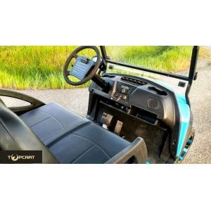 Quality Carro para uso general con errores 2 Seater del golf legal del camino con el poder de batería de 48 V, color rojo for sale