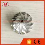 42.70/56.00m 11+0 blades Turbocharger Billet/Milling/aluminum 2024 compressor wheel for BMW N54 upgrade