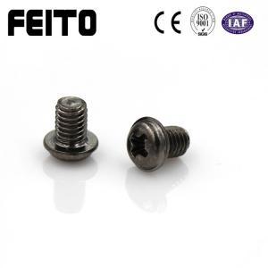 China OEM fastener M2 M3 M4 M5 M6 stainless steel /Steel cross recessed pan head screws on sale