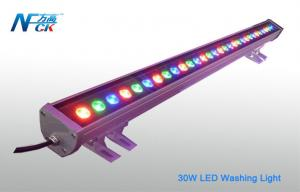 China AC 120v 30watt LED Wall Wash Light , 30 °/ 45°LED Washing Light on sale