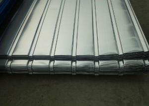 China Corrugated Galvanized Steel Sheets , Corrugated Roofing Sheets For Construction Roof on sale