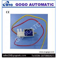 2mm Port 3 Way Miniature Solenoid Air Valve Lead Wring Type DC 6V 12V 24V Rated Voltage