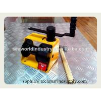 China Worm gear Hand Winch lifting on sale