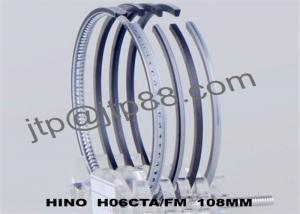 China Auto Spare Parts Engine Piston Rings For H06C / H06CTA Oil Ring 5mm on sale
