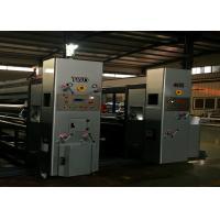 Model 1200 X 2600 Lead Edge Feeder Flexo Printer Slotter Die Cutter Machine / Corrugated Box Machine