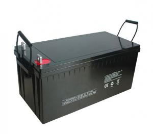 China High Energy Capacity Solar Power Battery LiFePO4 12V120AH Lower Weight Pollution Free on sale