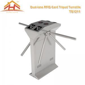 China Building Access Control Systems Drop Arm Turnstile , Electronic Turnstile Gates on sale