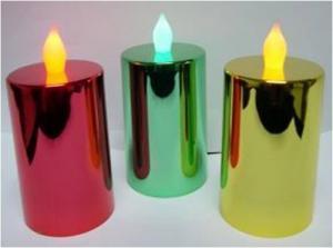 China Electroplating Led Candle on sale
