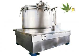 China Hemp Oil Ethanol Extraction Filter Centrifuge Stainless Steel Batch Type on sale
