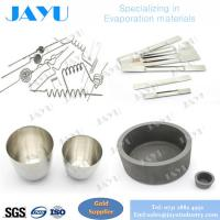 tungsten boats / Moly boats ,crucibles /E-Beam tungsten filaments used for evaporation source