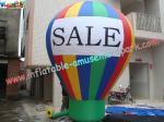 Inflatablesの大きい地上の気球を広告するODMはナイロン材料を裂停止する