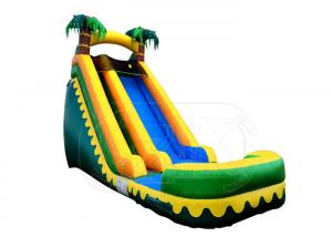 China Commercial Inflatable Swimming Pool With Slide / Inflatable Water Slide Big Kids on sale