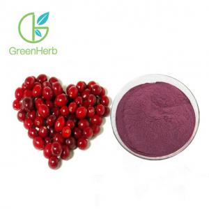 China Purple Red 15% 25% 50% Proanthocyanidins Cranberry Extract OPC Powder supplier