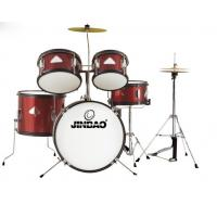 Jinbao musical instrument Red color 5-pc Junior Drum set