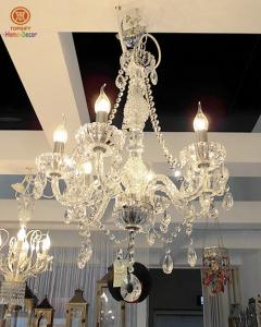 China Acrylic Clear Hanging Home Decoration Ceiling Chandelier Lights 110-240V on sale