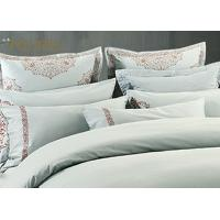 King Size  Poly / Cotton Jacquard Bedding Set Mixed Designs For Hotel