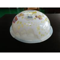 China blister hemisphere PC/PP/ APET series of  blister half ball with printing on sale