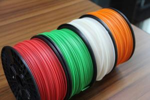 China 1.75mm Black ABS Plastic Filament For FDM Technic 3D Printer on sale