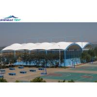 High Tensile Membrane Structures / Single Ridge Swimming Pool Roof
