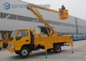 China Aerial Working Platform Articulated Boom Lift Truck With Insulation on sale