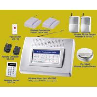 Complete Wireless Alarm Systems | Alarm panel +PIR +Door contact +smoke sensor |burglar & fire alarms