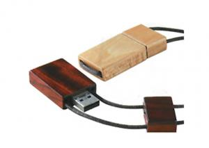 China High Data Transfer Awesome Smallest Gift Free Logo 2GB Wooden USB Flash Drive on sale