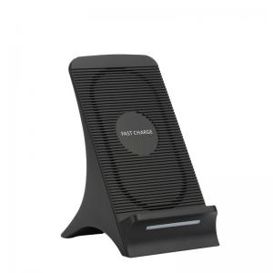 China 10w Standing Wireless Charger Two Charging Modes  0.5-6.0mm Charging Distance on sale