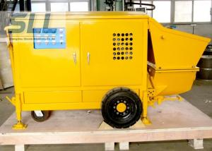 China Easy Operation Small Shotcrete Pump For Grouting Pump Spraying 7-15 M3/H Output on sale