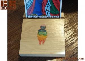 China Tarot Card Holder / Wooden Card Display / Photo Display / Personalized Card Holder on sale