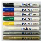 Water resistant Paint pens for rock painting, stone, ceramic, glass, wood, metal & more Set of 12pcs