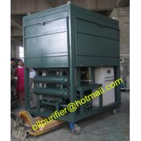 High vacuum used insulation oil reclamation unit, vacuum transformer oil recycling machine with flow meter