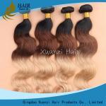 Покрашенная градиентом объемная волна расширений волос девственницы отсутствие запутывая 8 до 32 дюймов