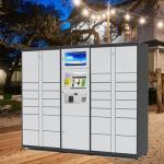 Intelligent Parcel Delivery Lockers , Parcel Register Locker And Laundry Locker