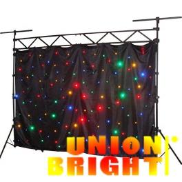 China LED Star Cloth star curtain / Stage Lighting LED Effect Light LED Flower Light RGB DJ light on sale