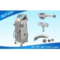 IPL SHR Super Hair Removal Machine / ND YAG Laser Tattoo Removal Bipolar RF Skin Lifting