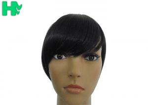 China Synthetic Hair Straight Clip In Extension Fringe Bang Headbands Front Hair Bangs on sale