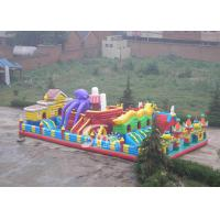 China 20x10m octopus city kids giant inflatable amusement park made of lead free pvc tarpaulin from China factroy on sale
