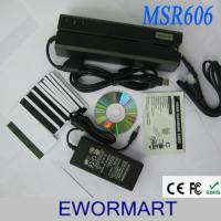 China 2017 msr606 msr 606 magnetic stripe card reader manufacturer on sale