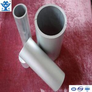 China Round natural anodized aluminum tube with different diameters on sale
