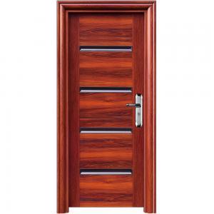 China Apartment China simple door modern iron gate designs,steel security door on sale