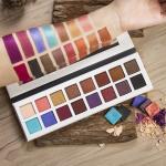 16 Color Pressed Matte Shimmer Eye Makeup Eyeshadow Palette For Daliy Life