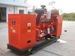 China 50Hz AC 300kw Natural Gas Generator , 300kw Biogas Generator Set on sale
