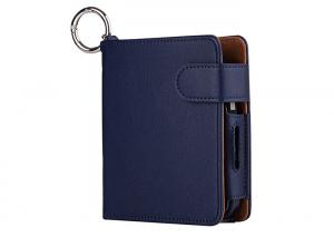 China Dark Blue IQOS E Cigarette Holder Lanyard With Protective Skin Magnetic Buckles on sale