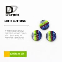 Rainbow Fancy Dress Shirt Buttons Abundant Designs For Clothing Industry