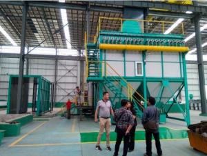 China Zinc Hot Dip Galvanizing Equipment With Flue Gas Waste Heat Utilization System on sale