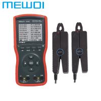 MEWOI5000B- Intelligent Double Clamp Digital Phase Volt-Ampere Meter