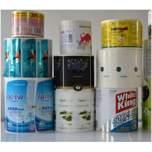 China 30-55 micron Thickness Custom Adhesive Label , Waterproof Self Adhesive Stickers on sale