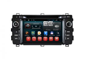 China Android DVD Player Toyota Auris GPS Navigation Rearview Camera Input SWC TV on sale
