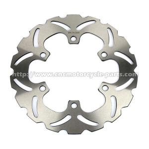 China 240mm Honda Motorcycle Brake Discs , Heat Treatment Motorcycle Front Brake Rotors on sale